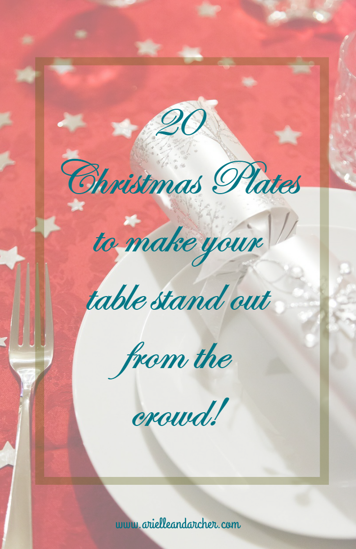 20 Christmas Plates to make your table stand out from the crowd