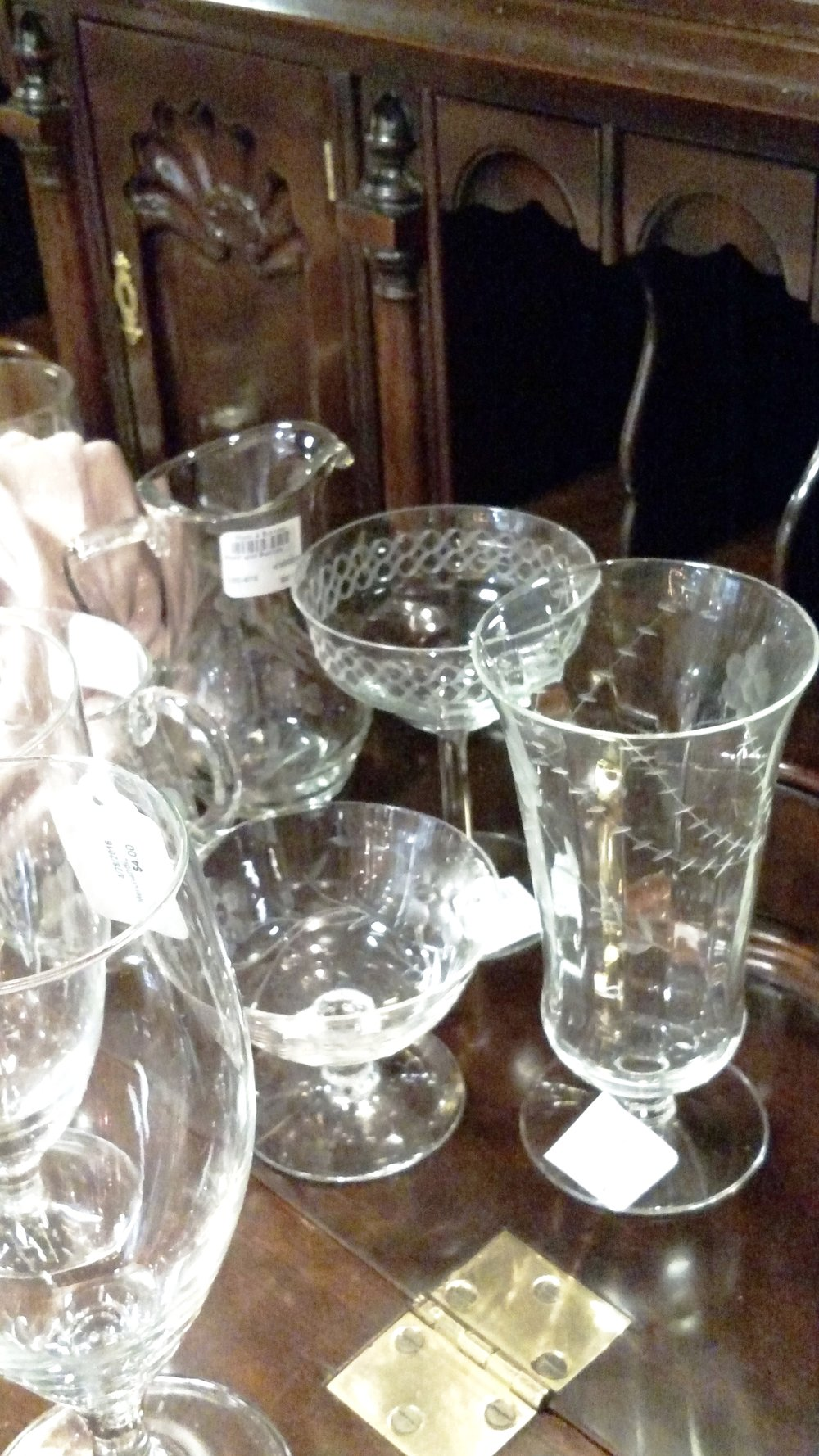 Sparkling Crystal Glassware to Set the Perfect Table or Accent a Bar Cart