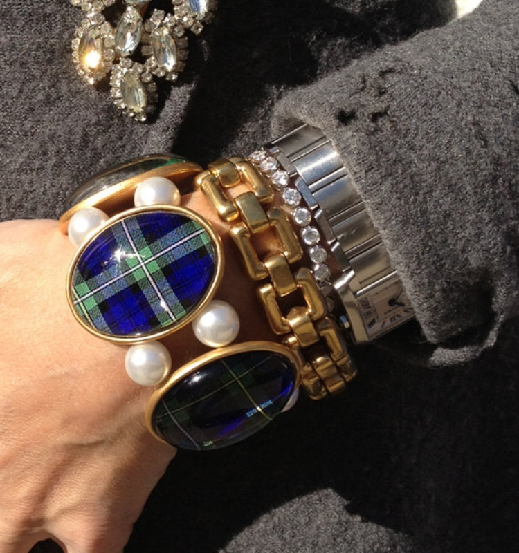 Beautiful Campbell Tartan Plaid Bracelet by joolzhayworth on Etsy