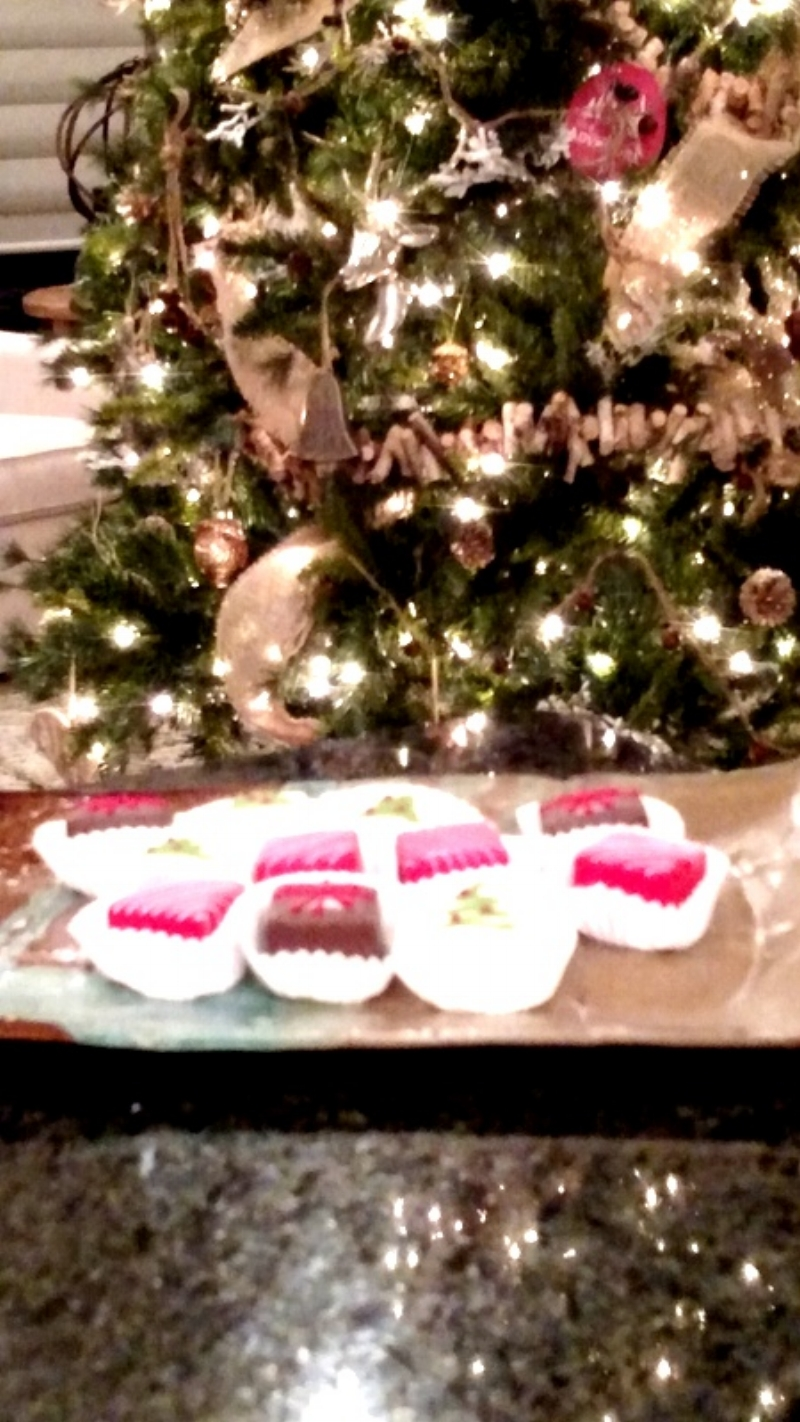Petit Fours and the Christmas Tree