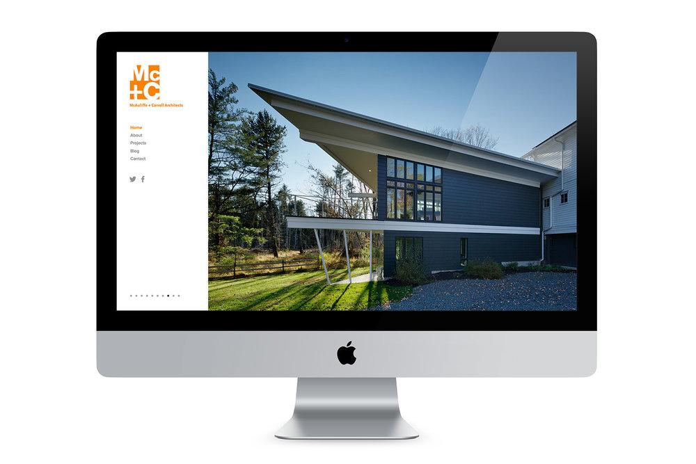 McAuliffe + Carroll Website