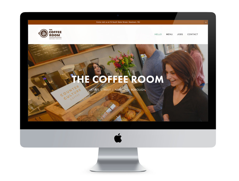 The Coffee Room Website