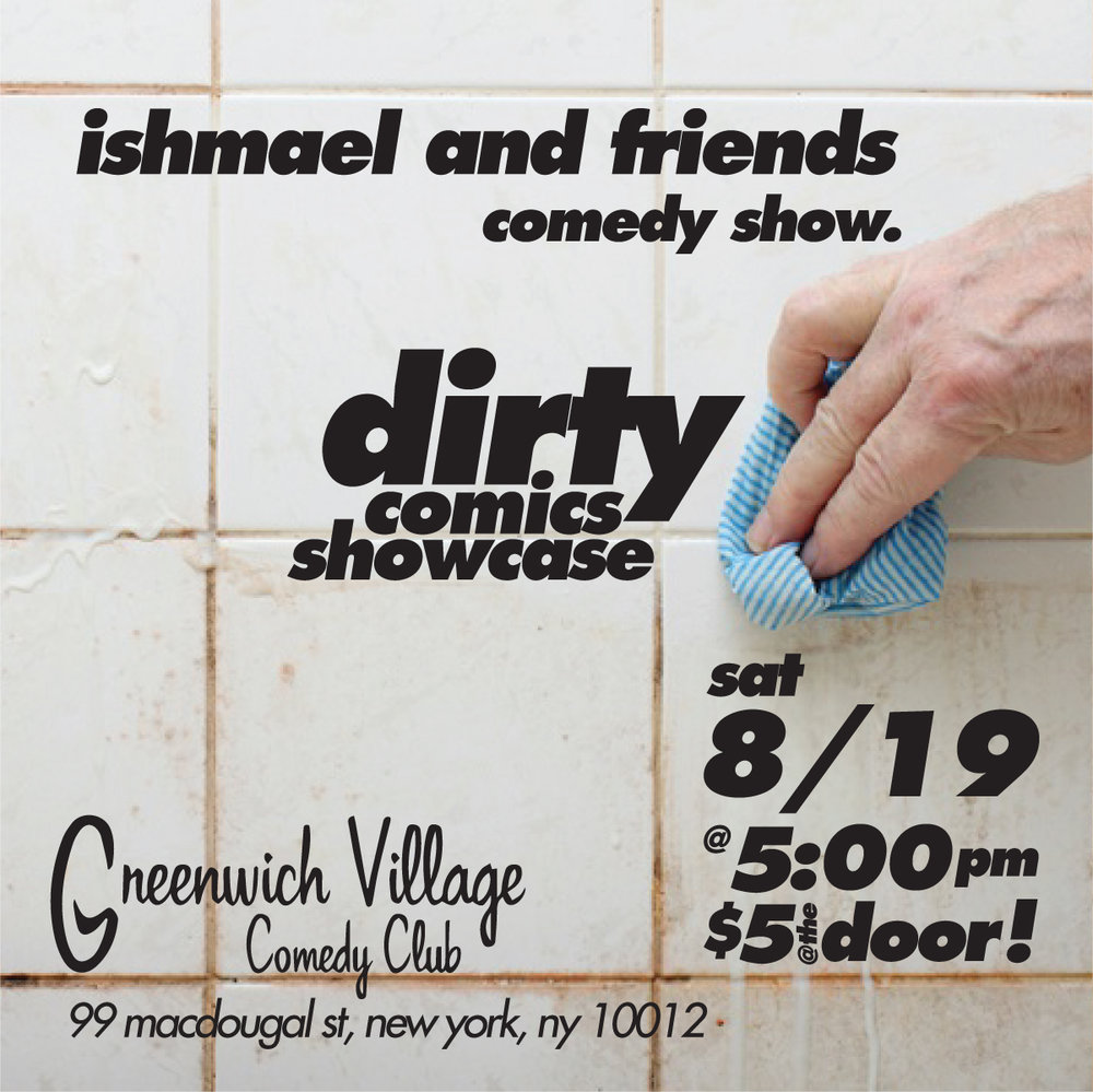 Come out Sat 8/9 at 5pm. After brunch dirty talk.