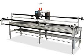 Frame which fits both the Q20 and Q24 Bernina long arm machines
