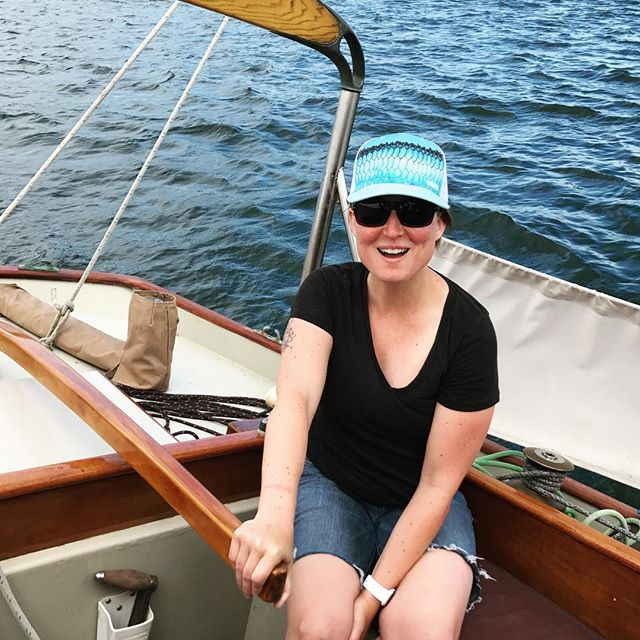I'm a sailor!! I'm sailing!! I'm in a boat, and I'm sailing!! Ahoy! #whataboutbob