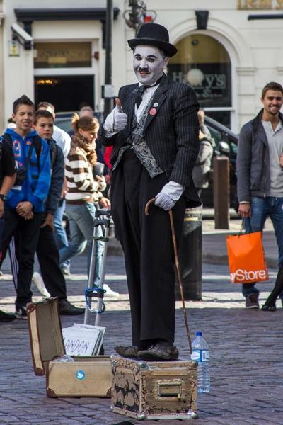 Covent Garden Charlie Chaplin