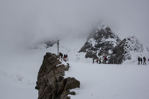 Jungfraujoch peak