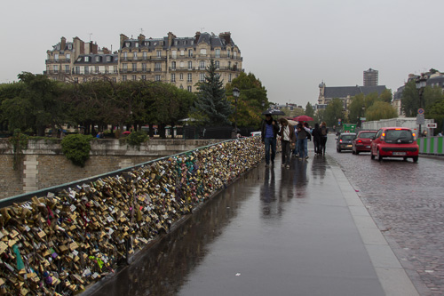 Paris Bridge Love Locks