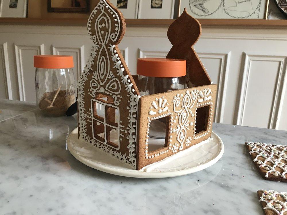 Maison en pain d'épices (montage)