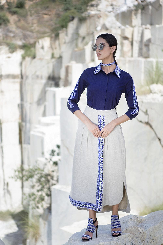 PSJ1002 Shirt   PSJ0404 Skirt