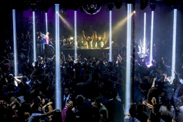 DJs at Nightclub