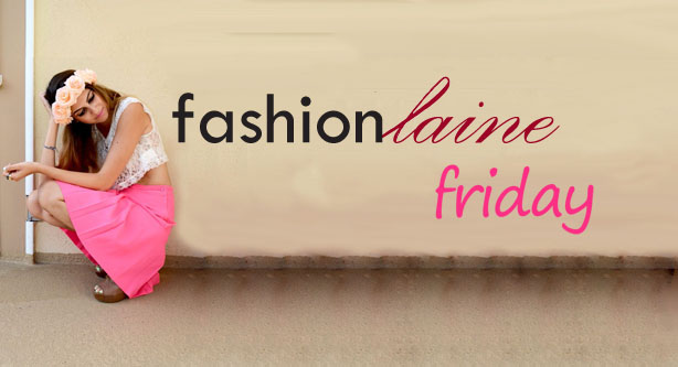 Fashionlaine Friday Banner