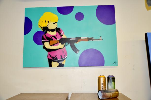 214 Graffiti