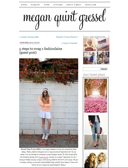 Guest Post: meganquint com — Fashionlaine