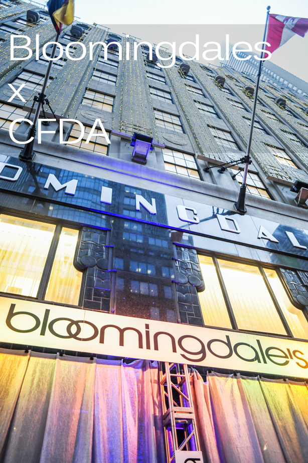 Bloomingdales CFDA Super Bowl