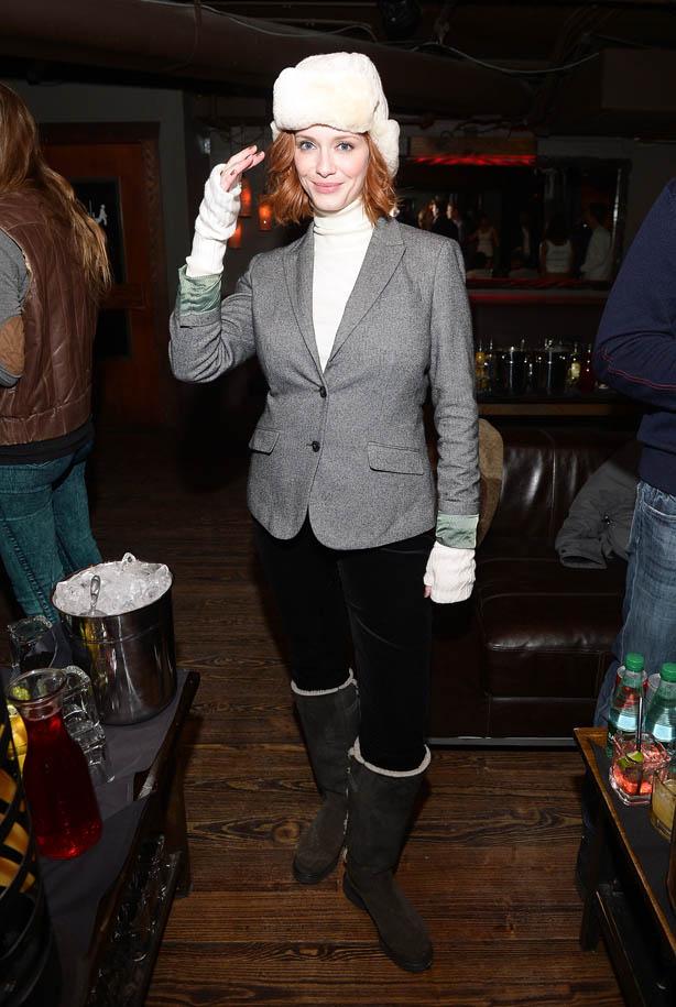 Christina Hendricks Sundance