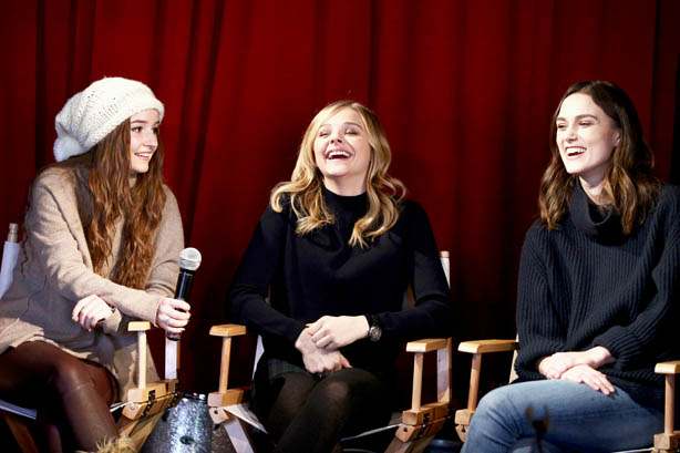 Kaitlyn Dever, Chloe Moretz and Keira Knightley Sundance