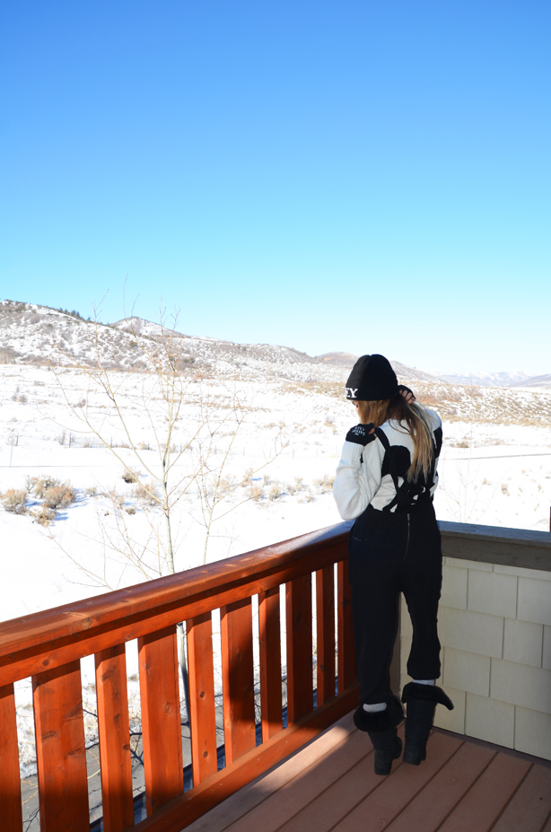 snowboarding outfit