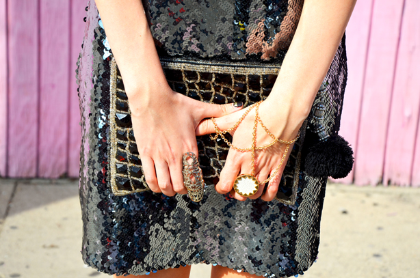 sequin spring dress