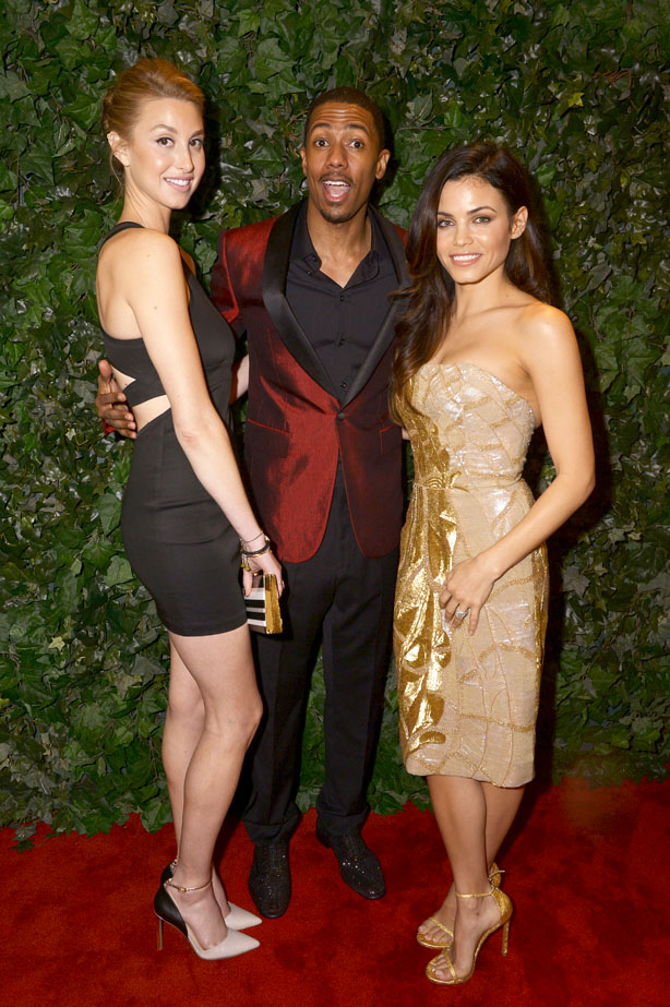 oscar parties whitney port nick cannon jenna dewan