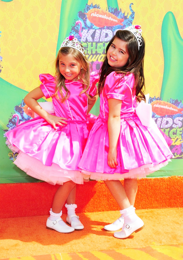 Kids Choice Awards 2014 Sophia Grace and Rosie