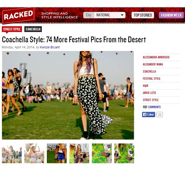 Racked Coachella Street Style