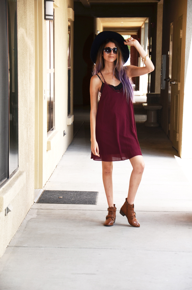 slip on dress