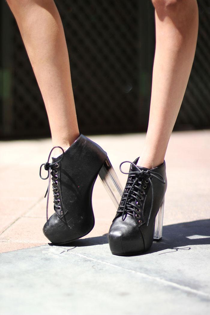 plastic heels