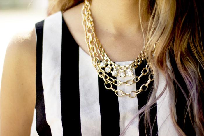 double chain necklacecs