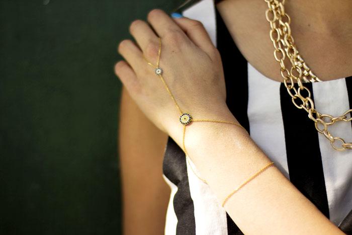 evil eye ring bracelet