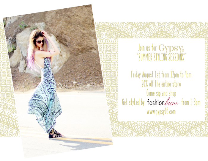 los angeles fashion blogger event