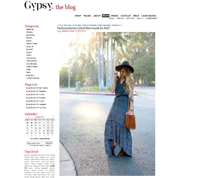 Gypsy05 Blog