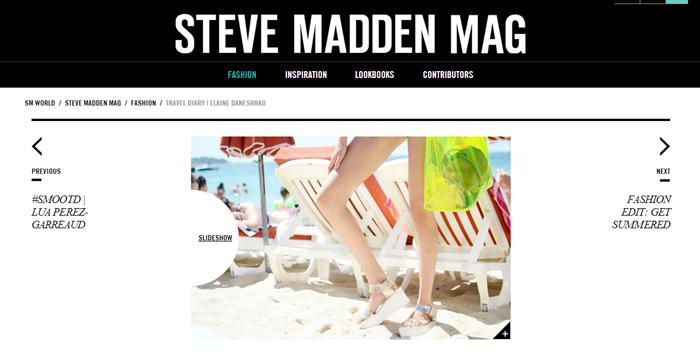 Steve Madden Magazine