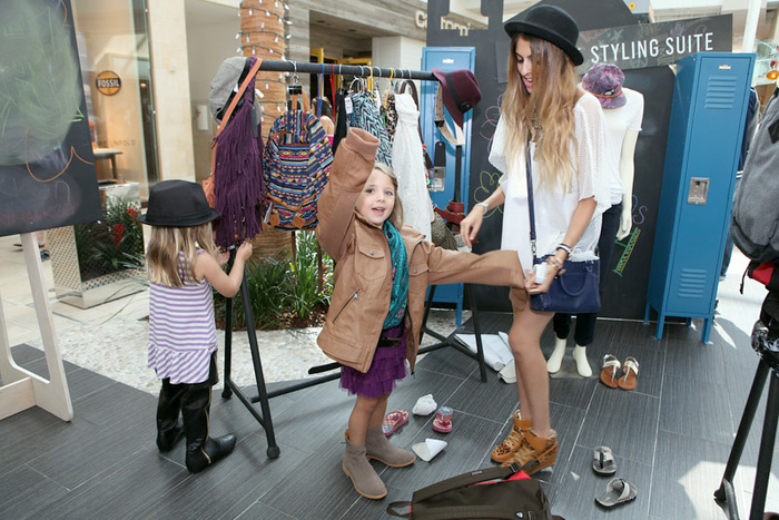 """The Back to School Styling Suite at Westfield Topanga Mall"""