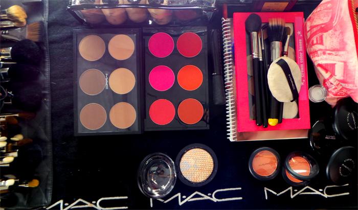 mac cosmetics nyfw