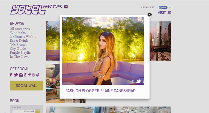 YOTEL New York Blog