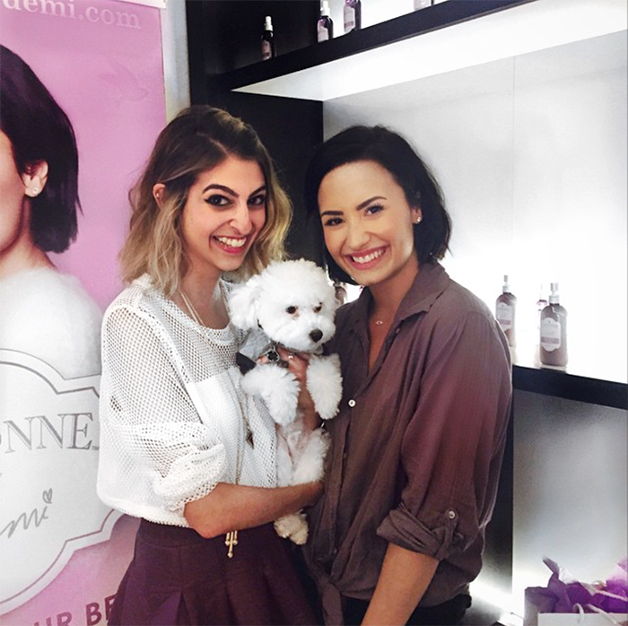 demi lovato and buddy