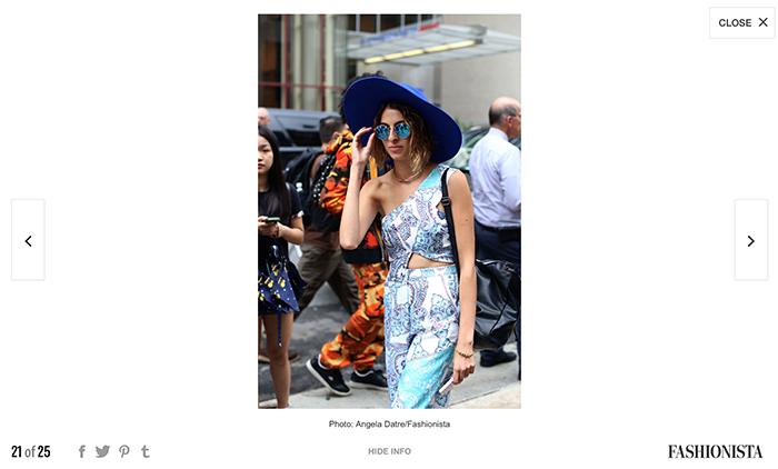 Fashionista.com Best NYFW Street Style