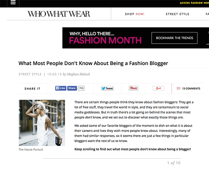 fashion bloggers who what wear