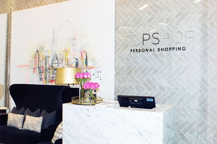 topshop personal shopping