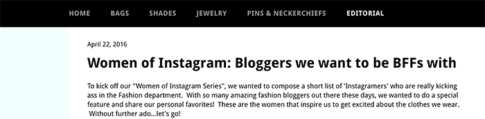 best fashion blogs