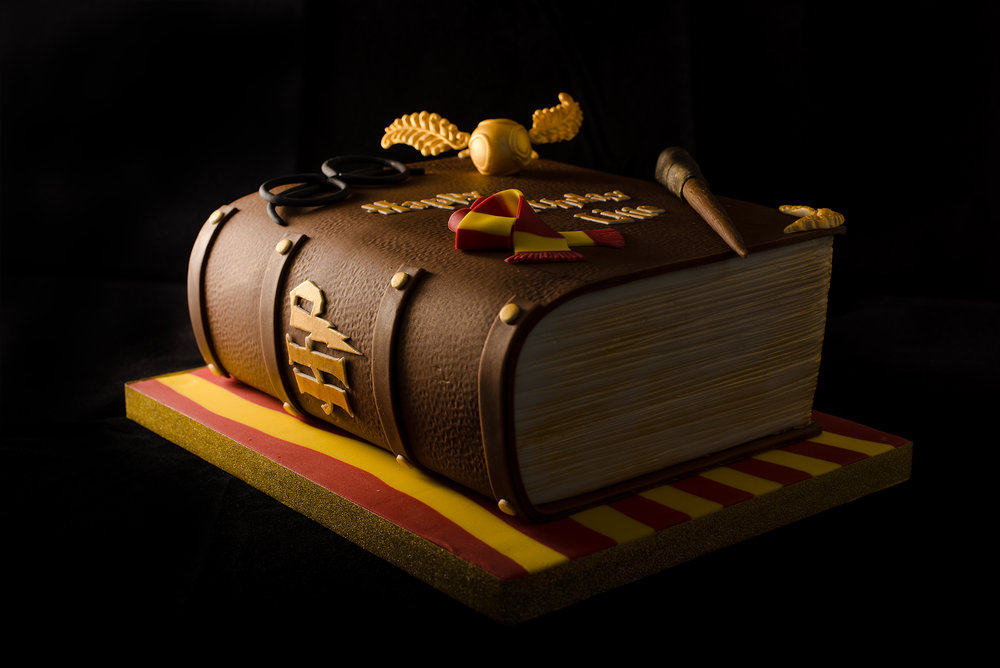 A Book of Spells cake for any aspiring wizards!