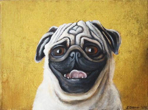 Pug dog / SOLD