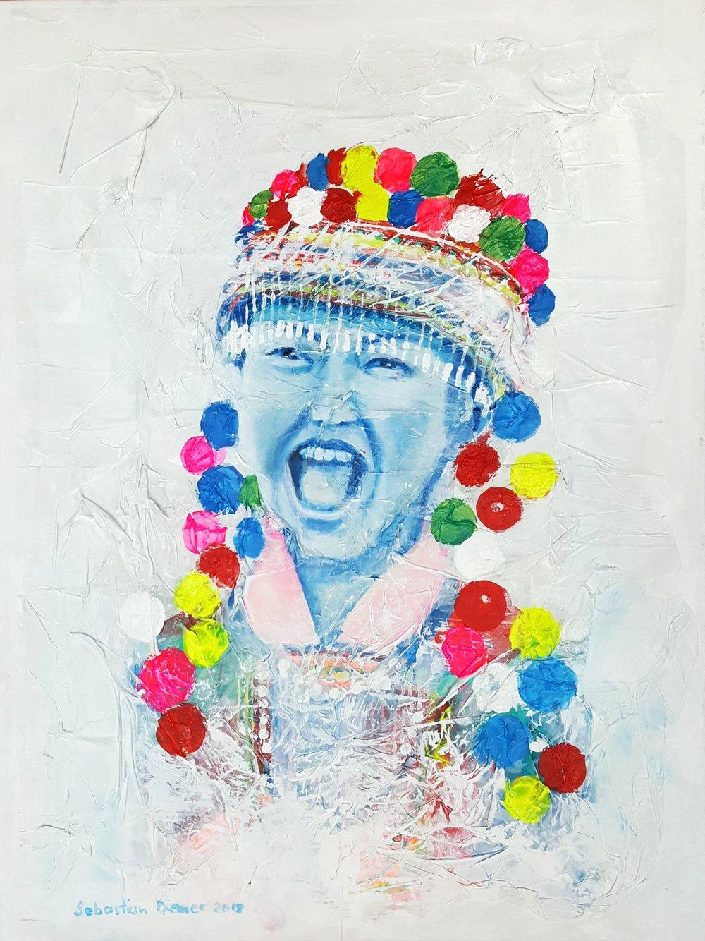 Lisu girl, 2018 / sold