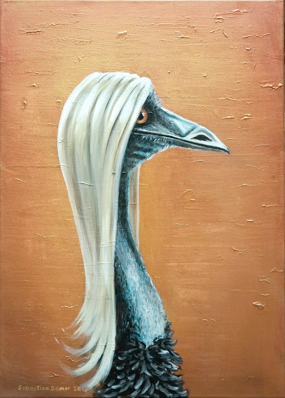 Blonde Emu / sold
