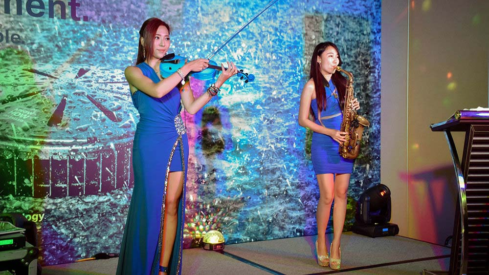 Violin & Saxophone : 小提琴 &薩克斯風