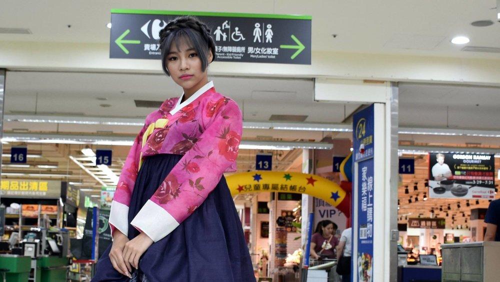 Korean model: 韓國模特兒