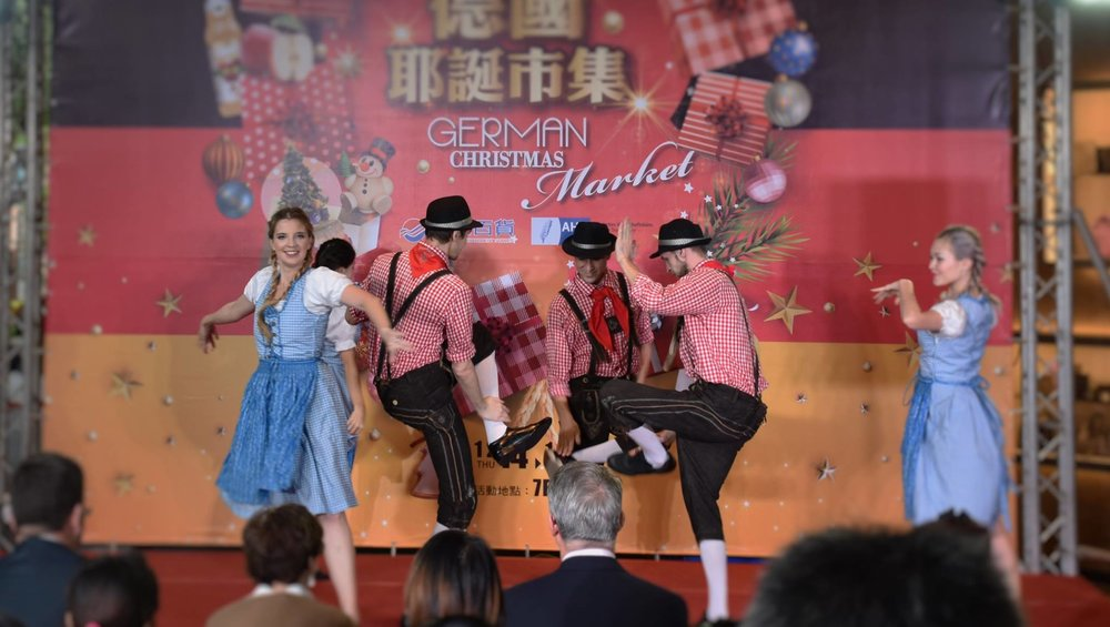 German slap dance: 德國傳統舞蹈