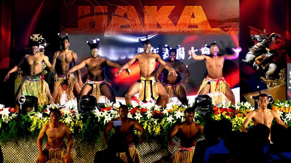 Haka dance: 哈卡舞
