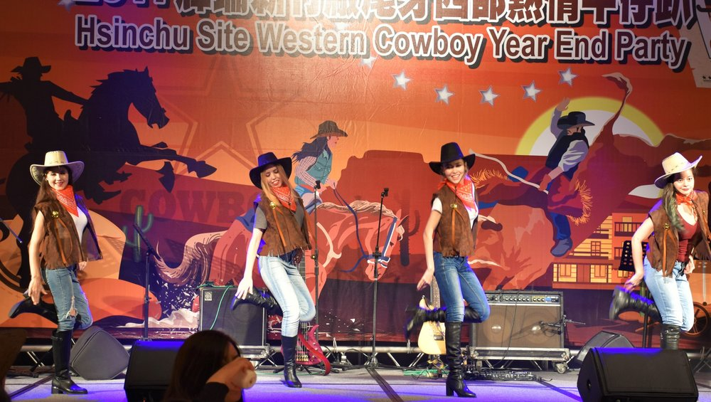 Country and Western Dance: 美國牛仔舞